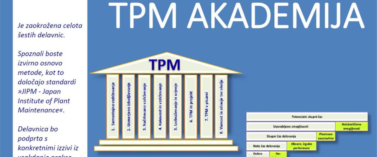 TPM AKADEMIJA celovito produktivno vzdrževanje