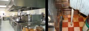 Čistoča je pomembna povsod! Ne verjamete? Tudi, če je hrana okusna, vendar pripravljena v restavraciji, ki je prikazana na desni strani, ne vzbuja posebnega apetita.