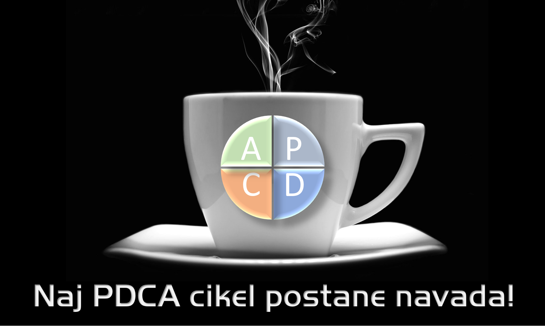 Naj PDCA cikel postane navada!