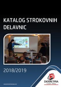 Katalog strokovnih delavnic 2018 in 2019